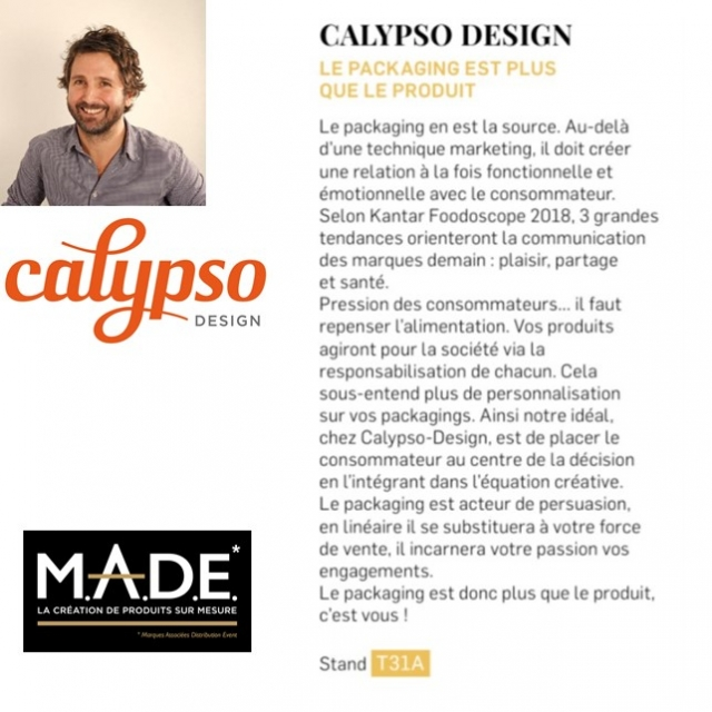 CALYPSO DESIGN AU MADE