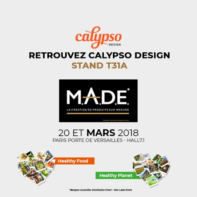 LA SEULE AGENCE A REPRESENTER LE DESIGN DE PACK AU MADE 2018