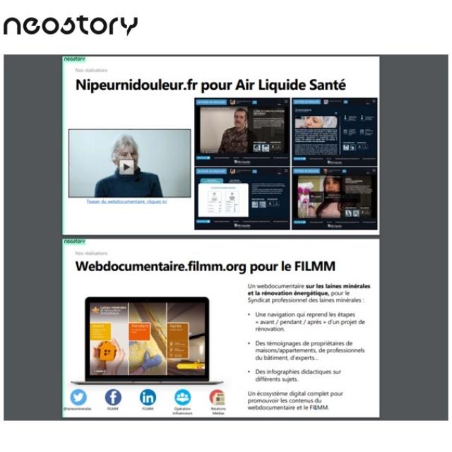 WEBDOCUMENTAIRE  le format brand content tendance de Neostory
