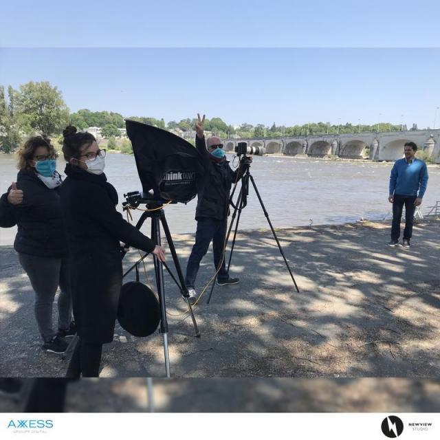 Shooting sur les bords de Loire