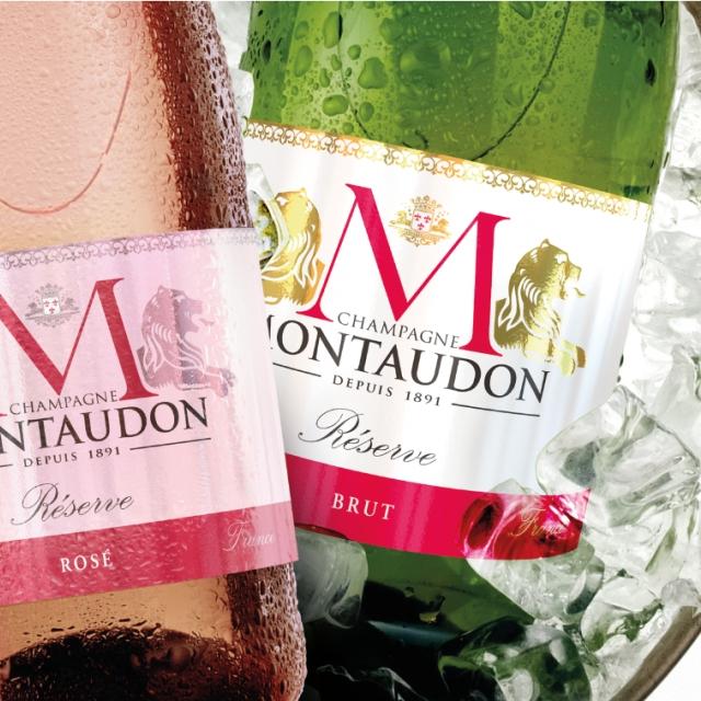 Une belle réalisation de Calypson Design pour Champagne Montaudon.