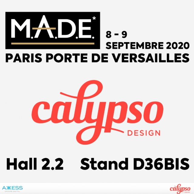 Retrouvez Calypso Design au salon MADE