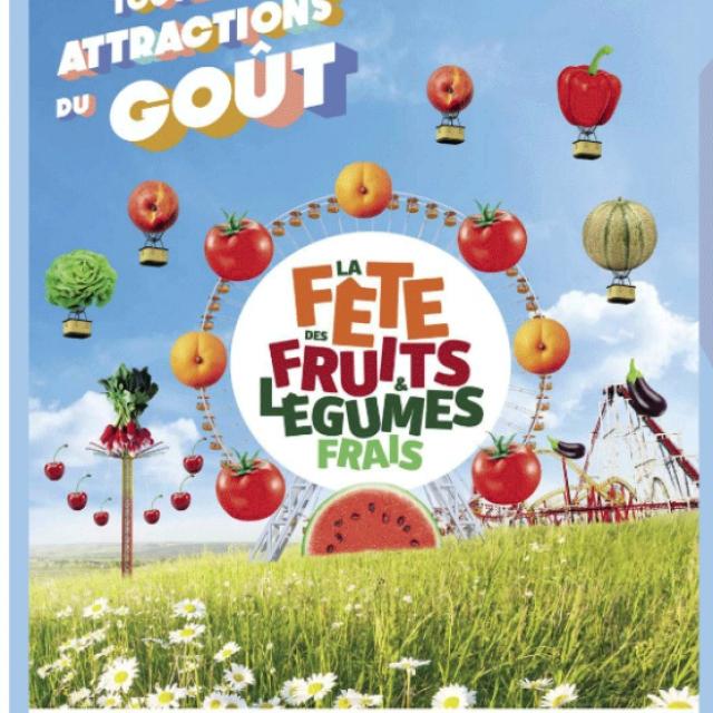 La fête des fruits et des légumes frais