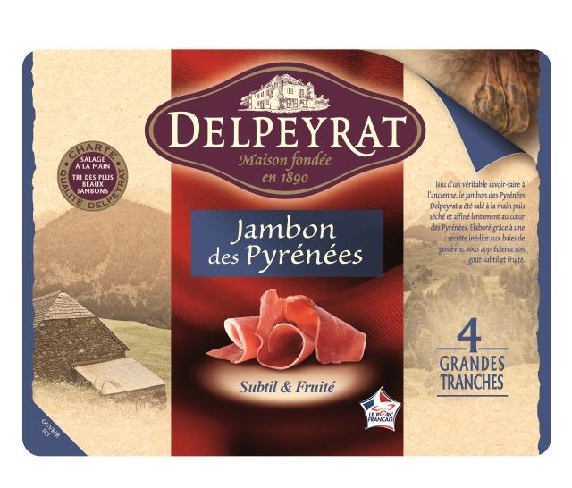 DELPEYRAT - Jambon Authentique Pyrénées