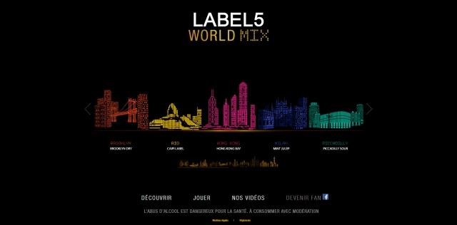 World mix label 5 1