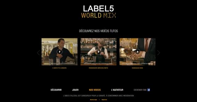 World mix label 5
